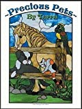 img - for PRECIOUS PETS Stained Glass Pattern Book book / textbook / text book