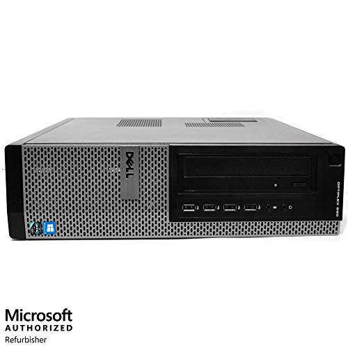 Dell Optiplex 990 Desktop Computer Package - Intel Quad Core i5 3.1-GHz, 16GB RAM, 2 TB, DVD-RW Drive, 20 Inch LCD Monitor, Keyboard, Mouse, WiFi, Bluetooth, Windows 10 (Renewed)