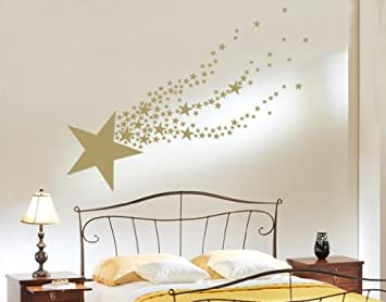 Amazoncom Shooting Star Wall Decal By Style  Apply Wall - Vinyl wall decal application