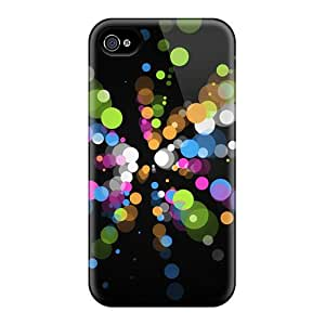 New Arrival Iphone 4/4s Case Color Circles Case Cover
