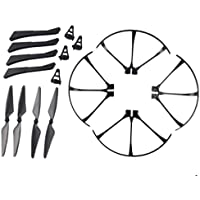 YouCute Spare Part Kit For mjx B3 Bugs 3 RC quadcopter drone Black blade protecting frame(Small)