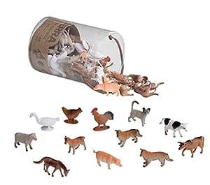 Battat Terra Farm Animals In Tube Action Figure Set
