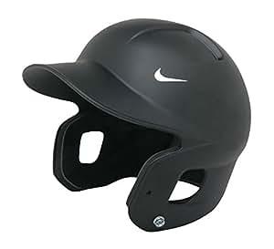Nike Show Rf Fitted Batting Helmet (Black/Rubberized Finish, X-Small)