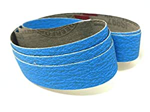 1x30 80 Grit Ceramic Sharpening Amp Sanding Belts 3 Pk