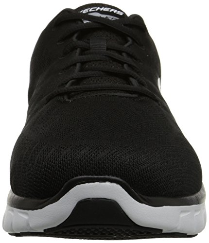 SkechersSynergyFine-Tune - Sneaker Uomo Nero (Bkw)