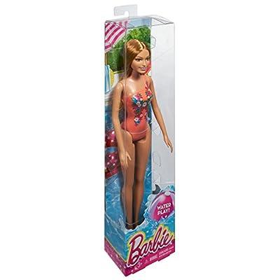 Barbie Beach Summer Doll: Toys & Games