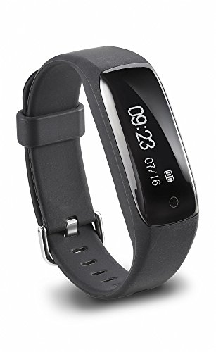 Jarv RunFit Activity Tracker / Bluetooth Smartwatch Sweatproof Fitness Tracker for iPhone or Android Devices w/ OLED Touch Display and 7 Day Battery – White