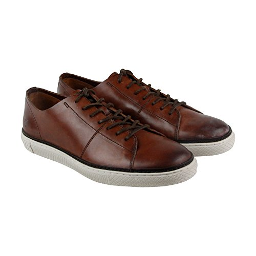 Frye Gates Bas Dentelle Marron Cuir Lace Up Sneakers Chaussures Marron