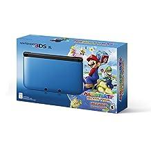 Nintendo 3DS XL Blue with Mario Party: Island Tour