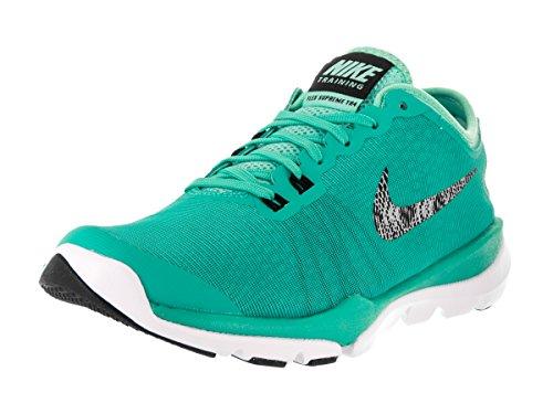 Nike Womens Flex Supreme Tr 4 Pr Hypr Jd/Mtllc Slvr Hypr Trq Bl Training Shoe 8 Women US