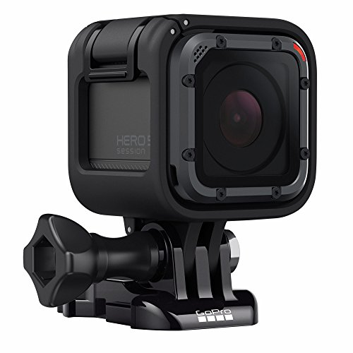 Gopro Hero5 Session Action Camera  4K Video  10Mp Photos  Bundle With 16Gb Microsd Card  Head Strap And Quickclip  And Floating Hand Grip