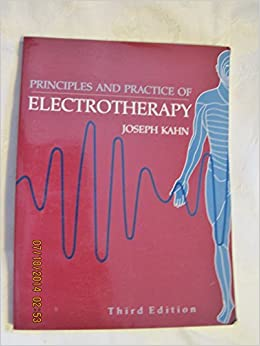 Book Principles and Practice of Electrotherapy