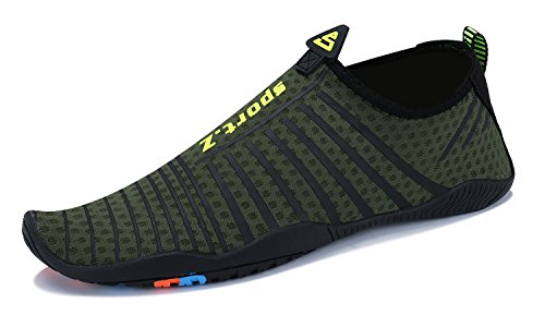 armée Aquatique Chaussures 4 Et Plage Ummaid Natation Verte Surf Sport Homme Femme Piscine Pour Plongée 1RSOwx