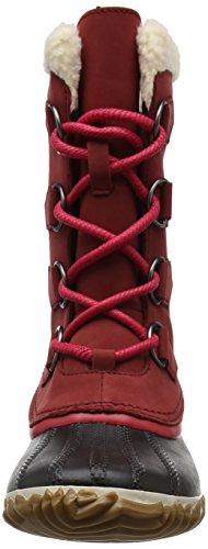Caribou Women's Red Snow Sorel Boot Black Slim Element 5Z6n6Pgvx