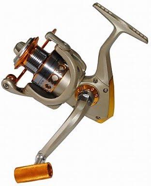 Carrete de TY Pesca Spinning 5.5:1 12 Rodamientos de Bolas ...