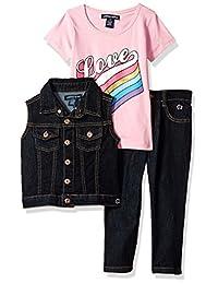 Limited Too Conjunto de Chaleco y pantalón de Moda para niñas (más Estilos Disponibles)