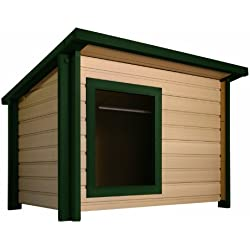 ecoFLEX Rustic Lodge Style Dog House