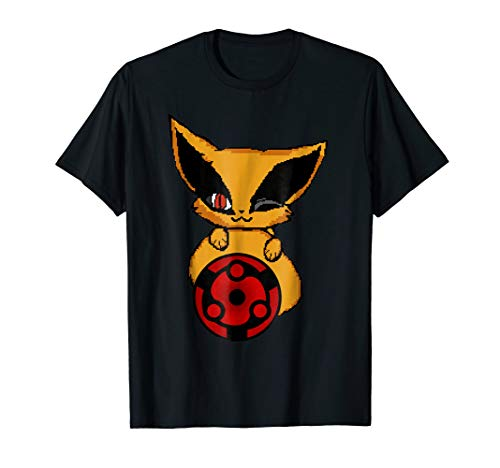 Madara eternal eye Nine tailed fox Halloween T-shirt