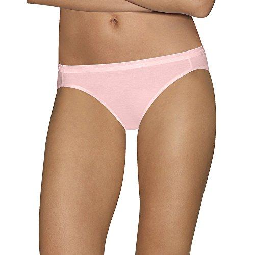 "Hanes Ultimateâ""¢ Comfort Cotton Women's Bikini Panties 5-Pack"