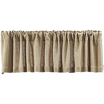 Amazoncom Lasting Impressions Burlap Natural Cotton Window