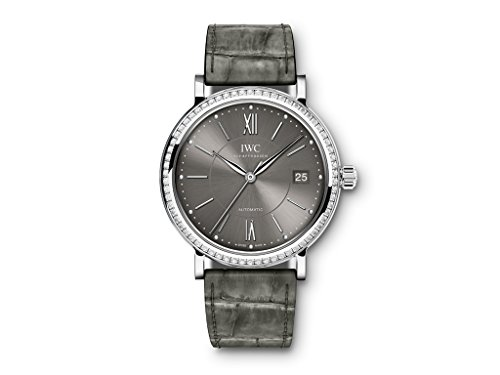 NEW IWC Portofino Automatic Grey Dial Steel 37mm IW458104