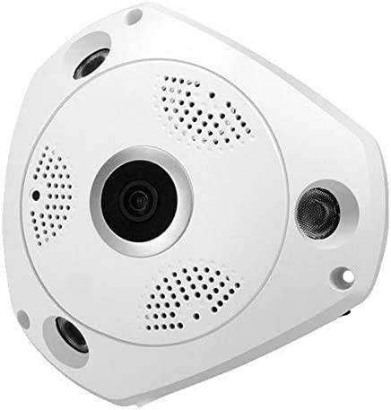 Scienish Wireless VR cam 3D Panoramic 360 Degree View IP Camera with voice