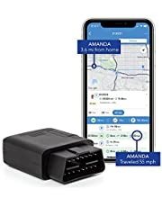 TrackPort GPS Tracker For Vehicles - Brickhouse Security OBD-II Track Car Location and Speed with Mini OBD Tracking Device   Monitor Kids and Vehicles. Subscription Required!