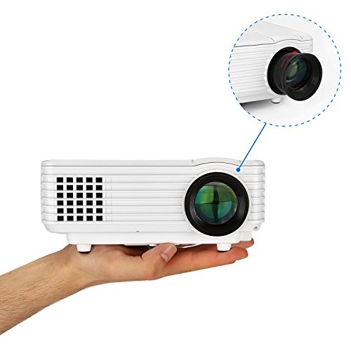 Usa free shipping mini led projector yokkao full color for Mini projector usa