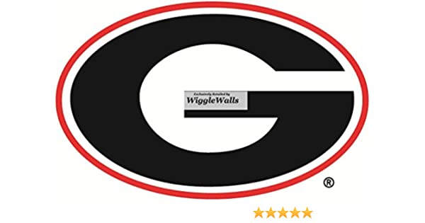 c96242a93af567 Amazon.com  9 Inch UGA Power G University of Georgia Bulldogs Logo  Removable Wall Decal Sticker Art NCAA Home Room Decor 9 by 6 Inches  Baby