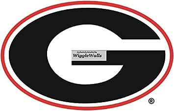 Amazoncom 9 Inch Uga Power G University Of Georgia Bulldogs Logo