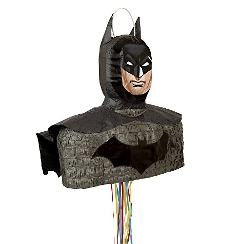 [Batman Pinata, Shaped Pull String] (Batman Costume Vigilante)
