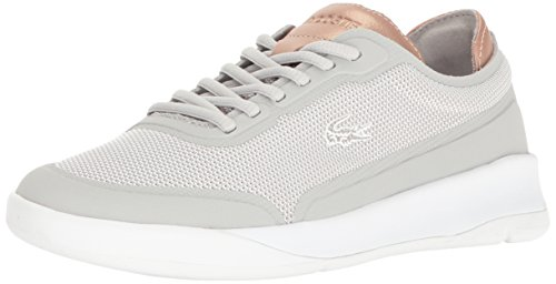 Lacoste Womens Light Spirit Elite 117 2 Fashion Sneaker Light Grey