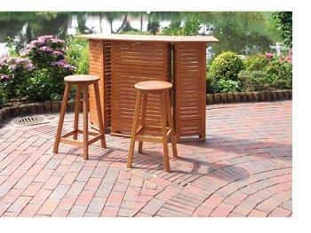 bartheke hausbar gartenbar eukalyptus holz fsc ge lt online kaufen. Black Bedroom Furniture Sets. Home Design Ideas