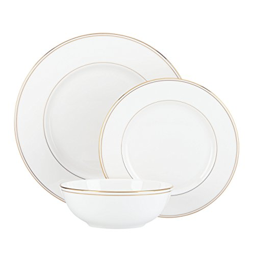 41rDwuJus3L - Lenox Federal Gold Bone China 5 Piece Place Setting