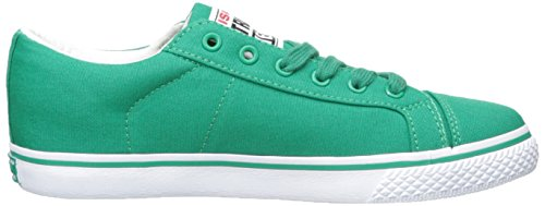 Syn Street Wear Womens Canvas Lo Sneaker Kelly Green