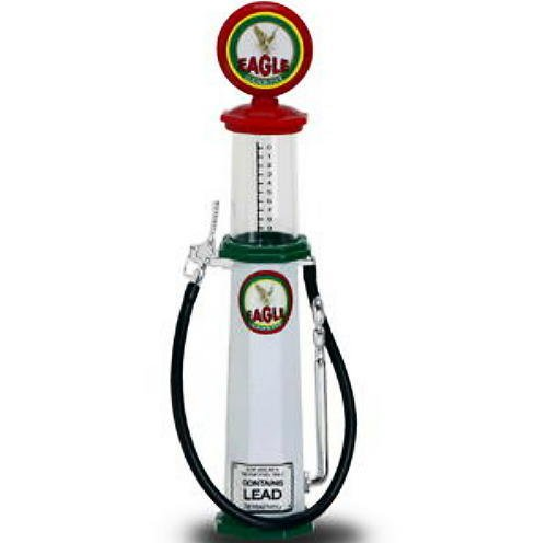 - Cylinder Gas Pump Eagle 2, White - Yatming 98612 - 1/18 scale diecast model
