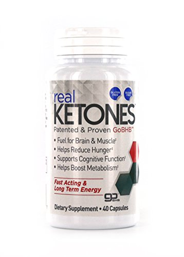 Real Ketones Fast Acting and Long Term Energy Weight Loss Supplement, 40 Count from Real Ketones