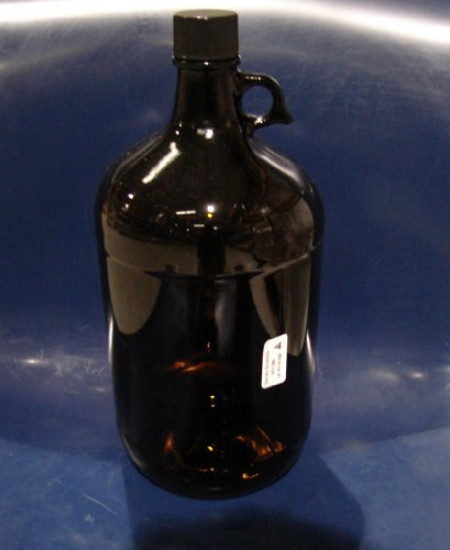 Daniels Scientific APC1300 4 Liter / 1 Gallon 38mm Amber Jug, with PTFE liner, 4 per case.