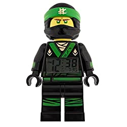 LEGO Mini Figure Ninjago Movie Lloyd Minifigure Alarm Clock