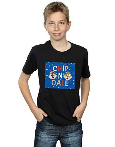 T Blue Noir Garçon Frame Chip Dale N shirt Disney 1CUaqY