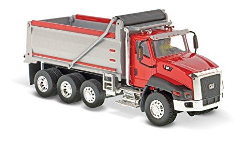 Caterpillar CT660 Dump Truck Red Core Classics Series Vehicle - Construction Caterpillar Truck