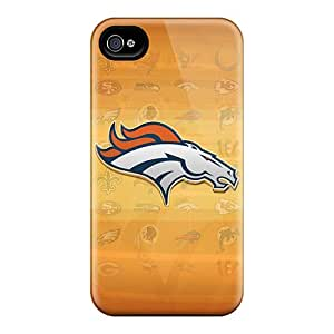 JoanneOickle Iphone 4/4s Shock-Absorbing Hard Cell-phone Case Unique Design Nice Denver Broncos Pattern [QzD11655AXUD]