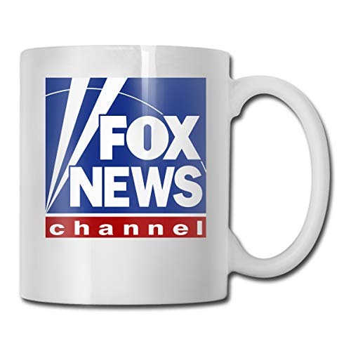 Fox News Channel Logo Coffee Mug Best Gift For Him/Her, 11-oz White Mug