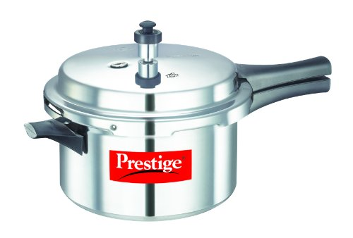 Prestige Popular Aluminium Pressure Cooker, 4 Liters (Best Hard Anodized Cookware Brands In India)