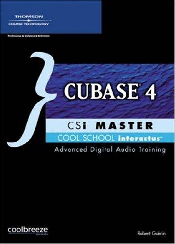 Cubase 4 CSI Master - Master Cd Rom Csi