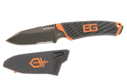 Gerber 31-001066 Bear Grylls Compact Fixed Blade, Outdoor Stuffs