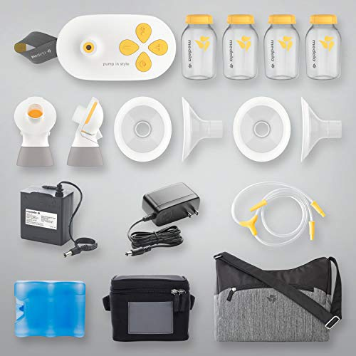 41rDz9Uuc2L - New Medela Pump In Style With MaxFlow, Electric Breast Pump Closed System, Portable Breastpump, 2020 Version