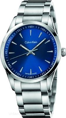 Calvin Klein K513114N Mens Bold Silver Steel Bracelet Watch