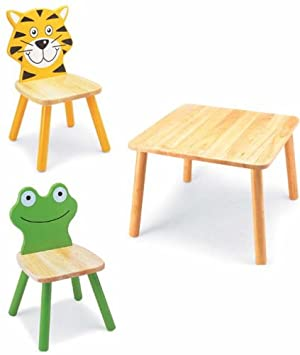 Pintoy 2 Friends Table and Chair Set: Amazon.co.uk: Toys & Games