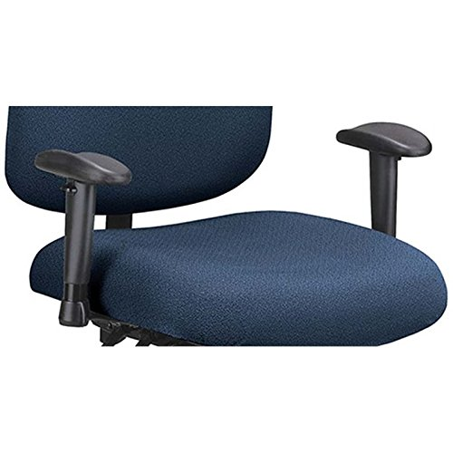 OFM Big and Tall Adjustable Office Chair Arms in Black
